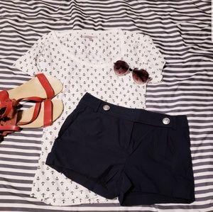 Gap nautical print t shirt